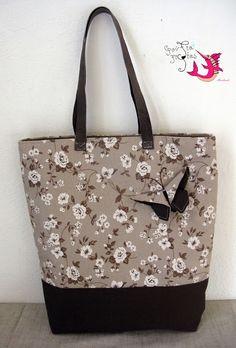 handmade tote bag  #handmade #tote_bag #origami #butterfly #floral #roses Origami Butterfly, Tote Bags Handmade, Ted Baker, Reusable Tote Bags, Roses, Floral, Pink, Rose, Flowers