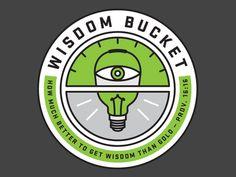 Dribbble - Get Wisdom by Joshua Blankenship
