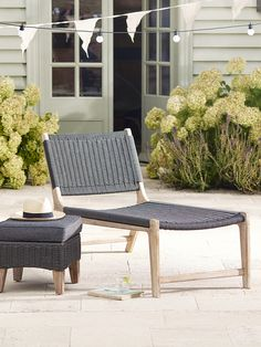 Inspired by Mediterranean summers, our Porto range combines classic and durable materials for a collection that can be used indoors and out. Our stylish sunlounger has a textured, marine grade rope base and back and a kiln-dried limewashed Acacia frame with exposed wood grain details that give each lounger a vintage, weathered feel. With a wide soft seat for sitting or lying and a detached wide back rest, each lounger is ideal for relaxing on with a good book in the sunshine. Team with our…