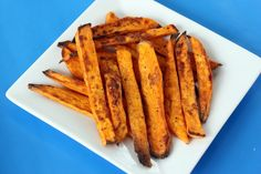 Simple Roasted Sweet Potato Fries by Judicial Peach