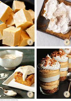 Pumpkin Cinnamon Rolls with Maple Cream Cheese Frosting + 9 pumpkin recipes Pumkin Pie, Pumpkin Fudge, Pumpkin Pumpkin, Pumpkin Dessert, Pumpkin Dishes, Pumpkin Recipes, Fall Recipes, Holiday Recipes, Just Desserts