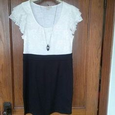White Lace Dress Nwot