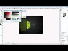 Gimp Video Tutorial - How to use gimp to make a logo