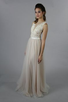 Sexy lace applique long special occasion, bridesmaid, party dress