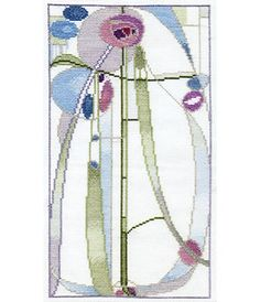 Rose Boudoir Mackintosh Cross Stitch Kit from Derwentwater Designs Cross Stitch Boards, Cross Stitch Art, Cross Stitch Flowers, Cross Stitch Designs, Cross Stitch Patterns, Art Nouveau, Art Deco, Tapestry Design, Sewing Accessories