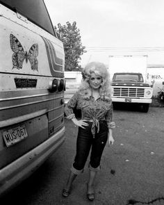 Dolly Parton. Not just her hair, I love everything about this image. :)