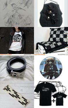 black is back sotd/poletsy by koralikowyraj on Etsy--Pinned with TreasuryPin.com