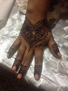 Henna I did for one of my friend...