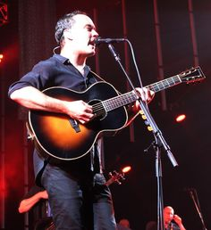 The Dave Matthews Band played to a crowd of thousands at the First Niagara Pavilion.