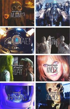 Doctor Who Bad Guys... But what's in the last one?
