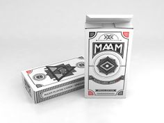 MAAM Playing Cards (Student Project) on Packaging of the World - Creative Package Design Gallery