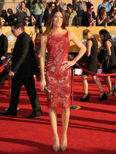 Jennifer Carpenter at 2012 SAG Awards Absolutely love this