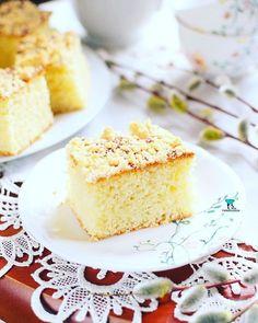 Puszyste racuchy z jabłkami Vanilla Cake, Food, Essen, Meals, Yemek, Eten