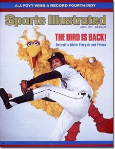 Sports Illustrated Cover 6/6/1977