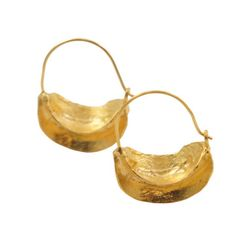 Anya Hoop Earrings Gold-Plated now featured on Fab.