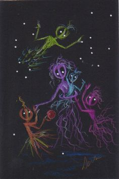 Momma and the Kidlets.......Fairies and Aliens 59 by DawnFairies