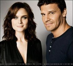 Bones & Booth -I actually find him so cute. To a point where if I'm watching Bones I always pause it on his face. he's beautiful :)