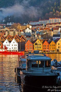 Bergen winter's morning, Norway