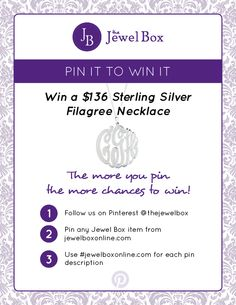 Be sure to comment with your total number of Pins to be entered to win.