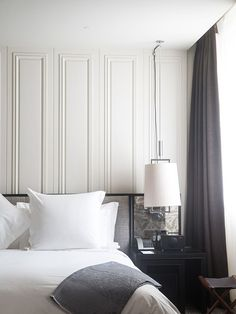 contemporary sophisticated bedroom | Cereal