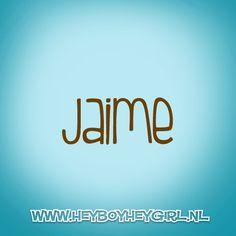 Jaime (Voor meer inspiratie, en unieke geboortekaartjes kijk op www.heyboyheygirl.nl)