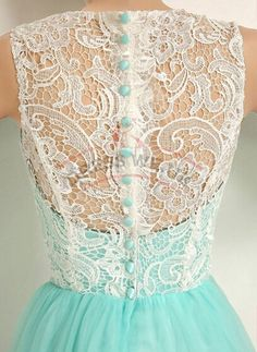 Elegant Mint Prom Dresses,Ruched Lace Prom Dresses,Sleeveless Prom Dresses, Long Prom Dresses,Prom Gowns - Thumbnail 1