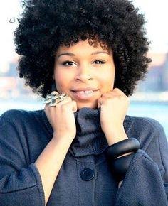 Natural hair - Black Woman!!  A Proper Fro !!