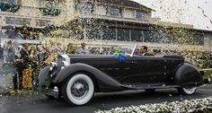 """2013 """"Best of Show"""" at the annual Concours D'elegance in Pebble Beach, CA. It is a 1934 Packard 1108 Twelve Dietrich Convertible Victoria. Vintage Cars, Antique Cars, Rockabilly Cars, Pebble Beach Concours, Alfa Romeo Cars, Concours D Elegance, New And Used Cars, My Ride, Luxury Cars"""
