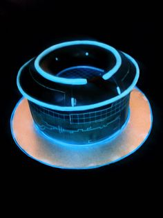 TRON inspired cake by Cake Rhapsody
