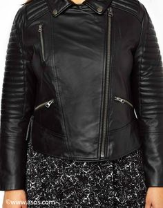 Blouson bikerjacket asos curve real leather! #plussize #fashionisforall #modeistfueralle