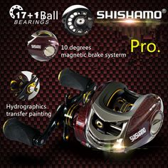 61.07$  Buy now - http://aliun4.worldwells.pw/go.php?t=32727762937 - yumoshi18 Ball Bearings 6.3:1 Baitcasting Reel Left Hand Right Hand Bait Casting Fishing Reels Coil Gear Pesca Baitcast Reeling