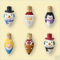 Ornaments From Light Bulbs