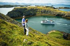 The town of #Stykkisholmur has a number of #attractions such as the #beautiful views and incredible #wildlife at the #Snæfellsnes peninsula and Breiðafjörður bay!