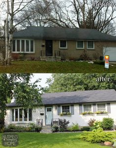 I'm about to open a HUGE can of worms with thisBefore and After Friday post but here goes -Painted Brick!(You just gaspe...