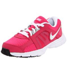 Weightless nikes. In hot pink