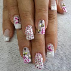 Beauty Makeup, Hair Beauty, Nail Art, App, Nails, Nail Design, Art Nails, Floral, Toe Nail Art