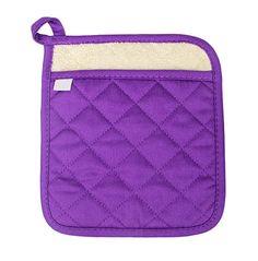 Purple Pocketed Potholder