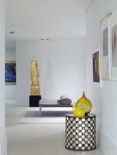 Piet Boon Styling by Karin Meyn | Styling with fresh yellow in a white interior