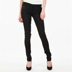 Rock Revival Women's Contemporary Sora Skinny Jean | from Von Maur #VonMaur #StyleCorner #BlackDenim #BlackJeans