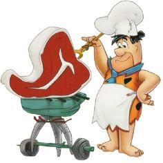 Fred cooks a Big Ass Steak