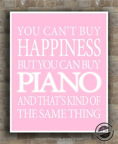 Piano Inspirational Quote Poster guitarist by InkistPrints on Etsy, $12.95 - Click on photo for more detail.