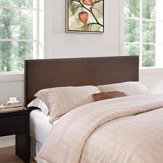 Yaletown Full/ Queen Espresso Headboard - Free Shipping Today - Overstock.com - 13302604