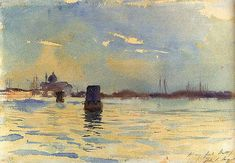 Venice, View from the Bacino John Singer Sargent