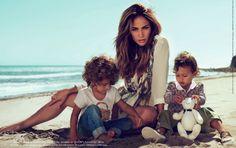Jennifer Lopez  kids, Max and Emme - Jennifer Lopez & Kids Pose For Gucci