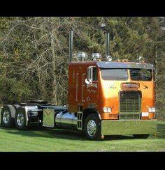 Custom White Freightliner COE
