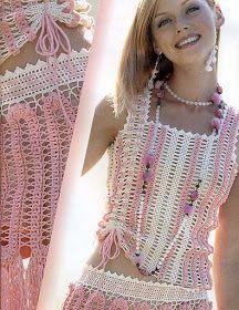 Fabulous Crochet a Little Black Crochet Dress Ideas. Georgeous Crochet a Little Black Crochet Dress Ideas. Crochet Beach Dress, Crochet Bodycon Dresses, Crochet Summer Tops, Black Crochet Dress, Crochet Skirts, Crochet Blouse, Crochet Yarn, Crochet Clothes, Crochet Stitches