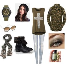 Army strong by raquelsday on Polyvore featuring polyvore, fashion, style, Rut&Circle, Superdry, Pull&Bear, Soda, Lacoste, Missoni, Victoria Beckham and Kaiser