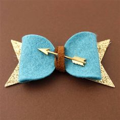 Merida Hair Bow - Spiffing Jewelry - Disney - Pixar - Brave