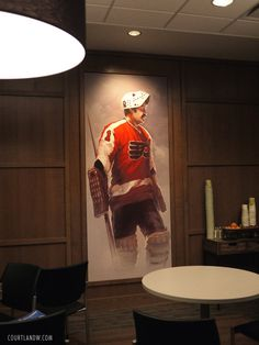 Flyers Players' Lounge