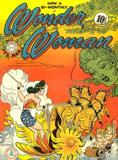 Wonder Woman #3.  harry g. peter seems to be ridiculed more than appreciated and even in his own day he seemed behind the times but every once in a while he'd pull off a little masterpiece like this and put all those younger guys to shame.